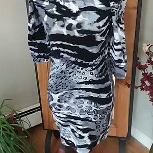 HOT GAL Dresses - Hot Gal Animal Print Dress